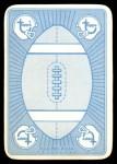 1971 Topps Game #49  John Brodie  Back Thumbnail