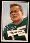 1952 Bowman Small #45  Steve Van Buren  Front Thumbnail