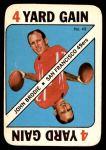 1971 Topps Game #49  John Brodie  Front Thumbnail