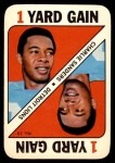 1971 Topps Game #19  Charlie Sanders  Front Thumbnail