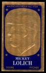1965 Topps Embossed #55   Mickey Lolich   Front Thumbnail