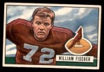 1951 Bowman #65  William Fischer  Front Thumbnail