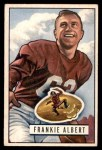 1951 Bowman #103  Frankie Albert  Front Thumbnail