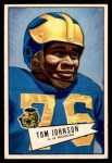 1952 Bowman Small #90  Thomas Johnson  Front Thumbnail