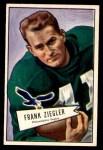 1952 Bowman Small #119  Frank Ziegler  Front Thumbnail
