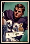 1952 Bowman Small #140  Yale Lary  Front Thumbnail