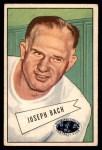 1952 Bowman Small #53  Joe Bach  Front Thumbnail