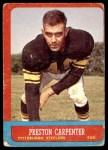 1963 Topps #126  Preston Carpenter  Front Thumbnail