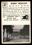 1951 Topps Magic #37  Bobby Marlow  Back Thumbnail