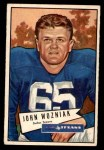 1952 Bowman Small #97  John Wozniak  Front Thumbnail