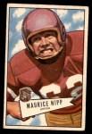 1952 Bowman Small #107  Maurice Nipp  Front Thumbnail