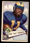 1952 Bowman Small #25  Paul Tank Younger  Front Thumbnail