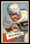 1952 Bowman Small #62  Walt Michaels  Front Thumbnail
