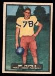 1951 Topps Magic #23  Jim Prewett  Front Thumbnail
