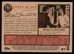 2011 Topps Heritage #197  Casey Blake  Back Thumbnail