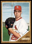 2011 Topps Heritage #83  Chris Carpenter  Front Thumbnail