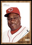 2011 Topps Heritage #172  Dusty Baker  Front Thumbnail