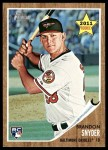 2011 Topps Heritage #99  Brandon Snyder  Front Thumbnail