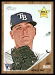 2011 Topps Heritage #19  Jake McGee   Front Thumbnail