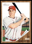 2011 Topps Heritage #80  Jay Bruce  Front Thumbnail