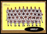 2011 Topps Heritage #132   Angels Team Front Thumbnail
