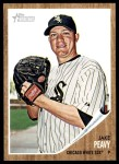 2011 Topps Heritage #89  Jake Peavy  Front Thumbnail