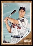 2011 Topps Heritage #70  Justin Morneau  Front Thumbnail