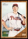 2011 Topps Heritage #77  Chase Utley  Front Thumbnail