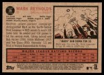 2011 Topps Heritage #36  Mark Reynolds  Back Thumbnail