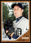 2011 Topps Heritage #105  Max Scherzer  Front Thumbnail