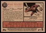2011 Topps Heritage #183  Mike Pelfrey  Back Thumbnail