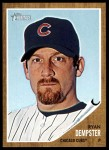 2011 Topps Heritage #191  Ryan Dempster  Front Thumbnail