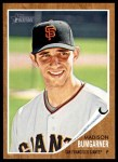 2011 Topps Heritage #107  Madison Bumgarner  Front Thumbnail