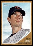 2011 Topps Heritage #166  Kevin Slowey  Front Thumbnail