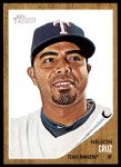 2011 Topps Heritage #42  Nelson Cruz  Front Thumbnail