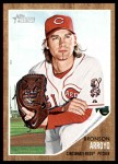 2011 Topps Heritage #120  Bronson Arroyo  Front Thumbnail