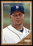 2011 Topps Heritage #173  Jhonny Peralta  Front Thumbnail