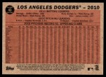 2011 Topps Heritage #43   Dodgers Team Back Thumbnail