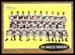 2011 Topps Heritage #43   Dodgers Team Front Thumbnail