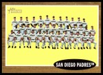 2011 Topps Heritage #22   Padres Team Front Thumbnail