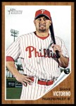 2011 Topps Heritage #157  Shane Victorino  Front Thumbnail