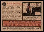 2011 Topps Heritage #27  Adam Kennedy  Back Thumbnail