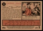 2011 Topps Heritage #30  Chipper Jones  Back Thumbnail