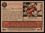 2011 Topps Heritage #151  Arthur Rhodes  Back Thumbnail