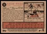 2011 Topps Heritage #100  David Price  Back Thumbnail