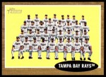 2011 Topps Heritage #334   Devil Rays Team Front Thumbnail