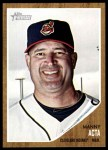 2011 Topps Heritage #242  Manny Acta  Front Thumbnail
