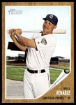 2011 Topps Heritage #274  Will Venable  Front Thumbnail