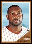 2011 Topps Heritage #220  Ryan Howard  Front Thumbnail