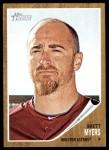 2011 Topps Heritage #304  Brett Myers  Front Thumbnail